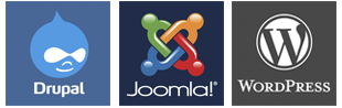 Desarrollo web Wordpress Joomla Drupal